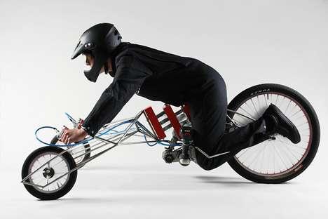 Skeletal Screwdriver Bicycles