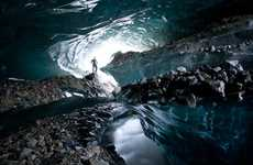 Glacial Cave Photography