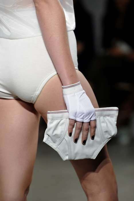 Jeremy Scott's Muse is Unmentionable with the Underpants Clutch
