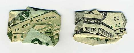 Clever Cash Creations (UPDATE) - Dan Tague Folds Money to Reveal Hidden Phrases