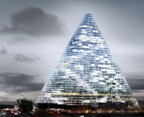 22 Examples Modern Pyramid Architecture