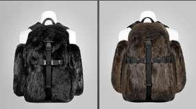 Beaver Fur Backpacks