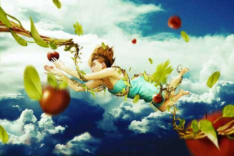 Falling Fantasy Photo Art