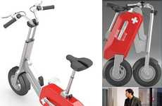 Collapsible Electric Cycles