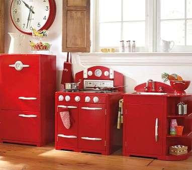 Vintage Kids Kitchens