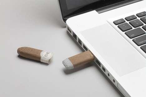Cigar-Shaped USBs