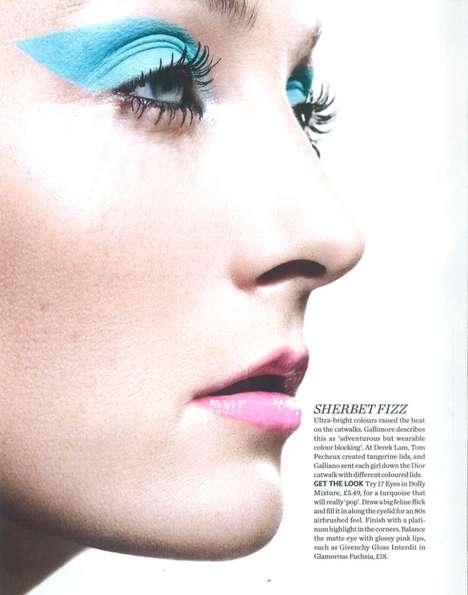 Colorful Spring Eye-Makeup
