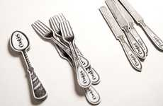 Cutlery Company Branding - The Cookies Kitchen & Bar Image is Forktastically Tasteful