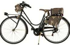 Modern Military Bikes - The Trussardi 1911 Camouflage City Bicycle is Ready for Action