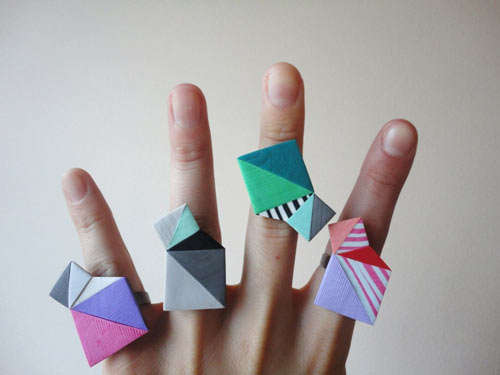 Abstract Geometric Accessories