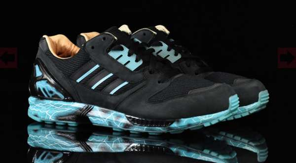 new style 90079 c85a0 Villianous Footwear : Adidas x Star Wars ZX 8000 Emperor