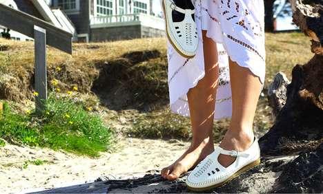 Chic Grandma Sandals