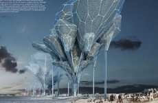 Surreal Ballooning Architecture