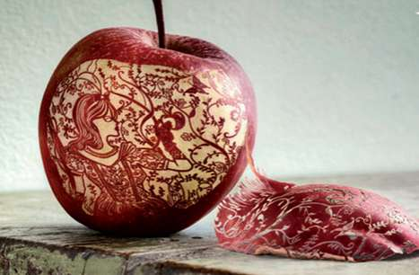 Fairytale Peeled Fruit - The Wusthof Knives Snow White Ad Divulges a Knack for Detail