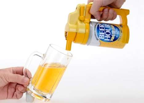Portable Beer Taps - Takara Tomy Beer Hour Offers a Foamy Head Straight from its Spout