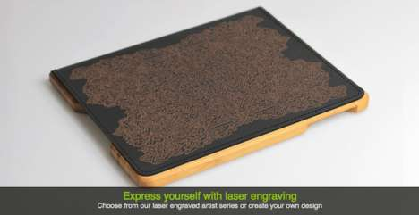 Laser-Etched iPad Cases