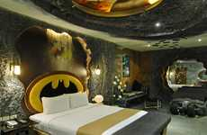 Superhero Hotel Rooms