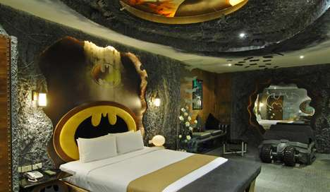 Superhero Hotel Rooms - The Eden Motel Has a Crazy Batman-Inspired Couple's Suite