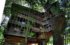 Treetop Mansions - This Huge Structure is the World's Tallest Tree House