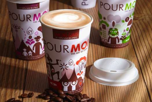 Animated Coffee Cups