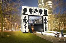 Pop-Up Cosmetics Stores - The Lightbox Shop for Schwarzkopf Was Designed by Karl Lagerfeld