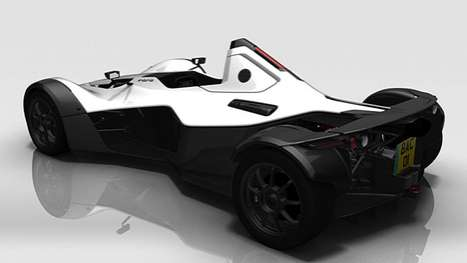 Slick Street-Legal Racers - The 2011 Bac Mono Singe Seater Burns Serious Rubber