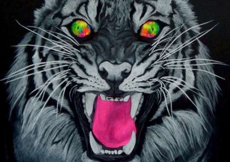 The Art of Audrey May Erickson Features Fierce Felines