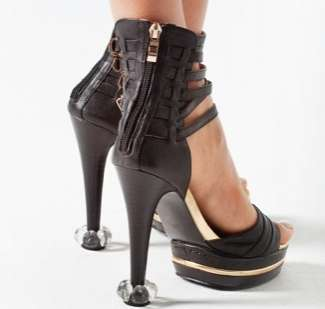 Stylish Pump Protectors - Starlettos Save Your Stilettos From Outdoor Wear and Tear