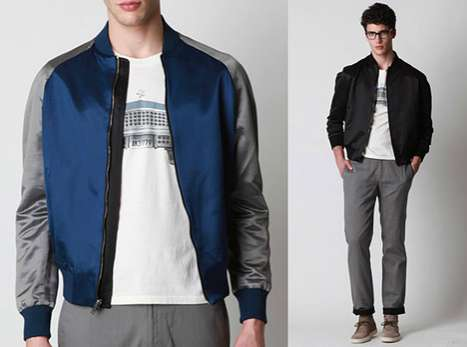 Two-Timing Bomber Jackets - Summer Satin By Adam Kimmel is a Rad Reversible Coat