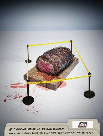 Murderous Food Ads