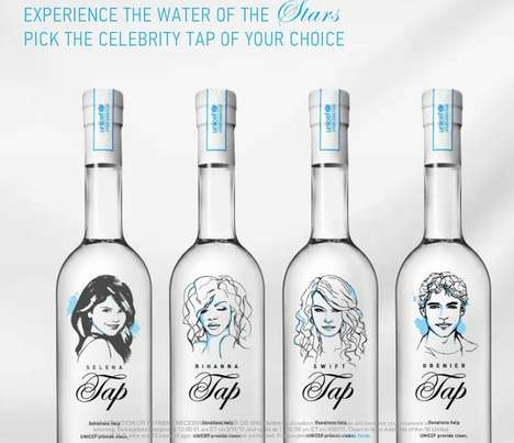 Charitable Celebrity Water