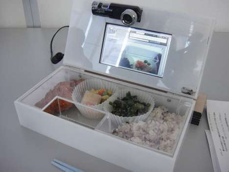 Video Camera Containers - The LunchCommunicator Lunch Box Helps Parent and Child Relationships