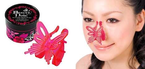 $50 Nose Jobs - The Beauty Nose Butterfly Nose Clip is the Latest Craze in Japan