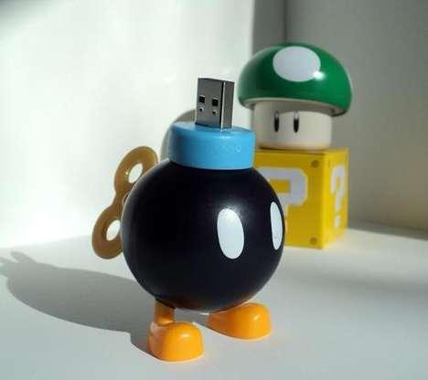 Detonative Memory Sticks