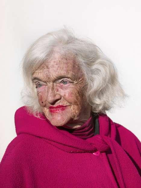 Eerie Elderly Photographs