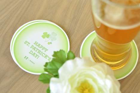 Liven Up the Party With These DIY St. Patrick's Day Coasters