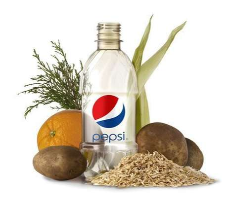 Eco-Friendly Plant-Based Bottles