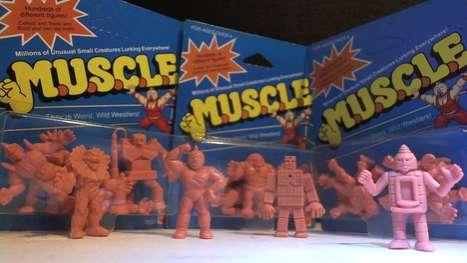 Retro Rubber Toys