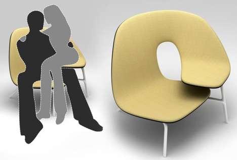 Curvy Couple Chairs
