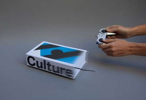 Remote-Controlled Art Books