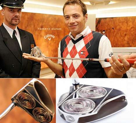 $161,000 Gold Putters