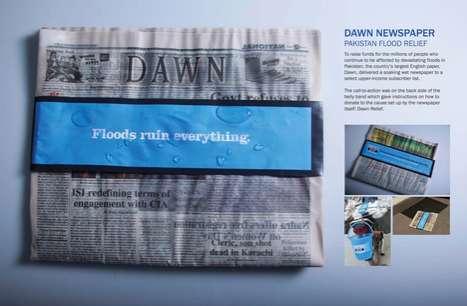 Flooded Newsprint Stunts