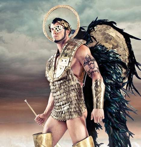 Angelic Mercenaries - Life Ball 2011 Continues to Fight Disease Through Epic Advertising