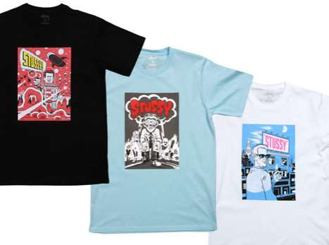 The Stussy x Daniel Clowes Capsule Collection Makes Cartoons Fashionable