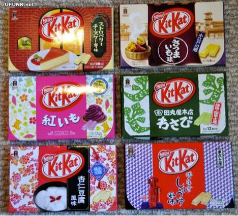 Cultural Chocolatiers - These Japanese Kit Kat Bars will Satisfy your Hunger for New Sweet Tastes