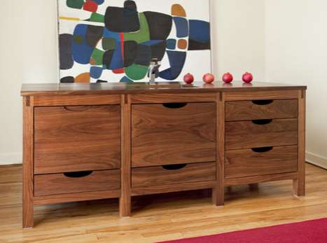 Cabinetlike Scullery Counters