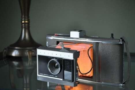 Retro Camera Lamps
