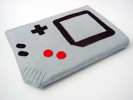 Game Boy Tablet Covers - The Gamer iPad Sleeve is a Blast from the Handheld Gaming Past