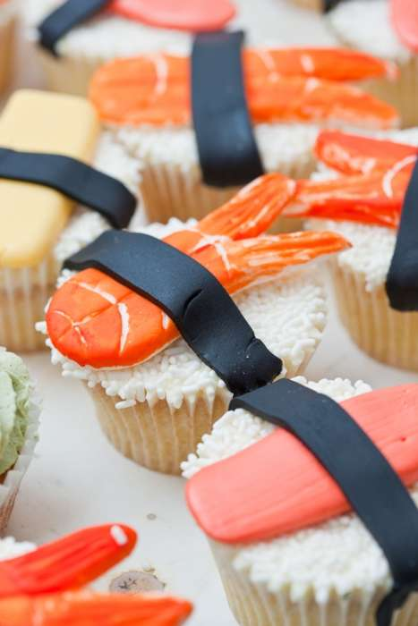 Fishy Fundraising - Cakes for Japan Includes Pop-Up Shop for the Red Cross