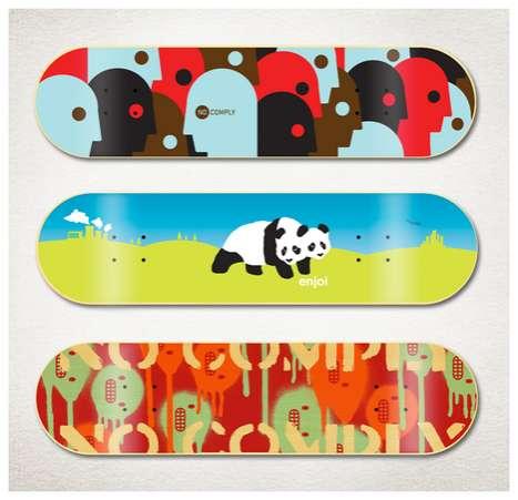 Sweet Skateboard Graphics